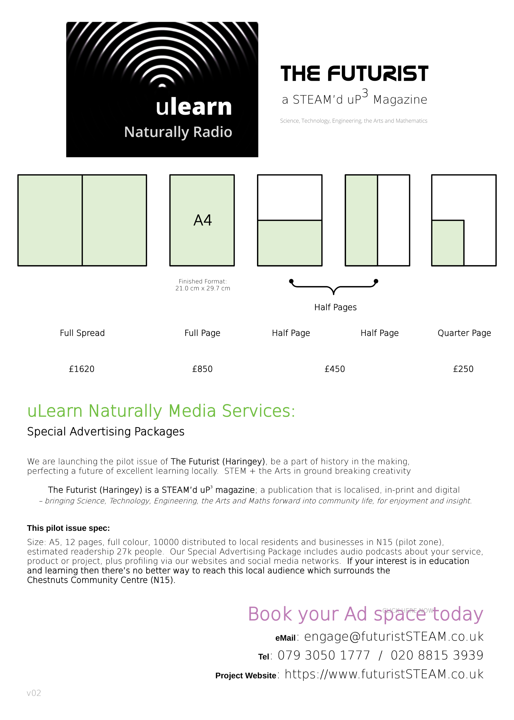 uLNMS advert rate card v2 e1800